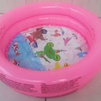 Piscina inflável circular infantil rosa 28 L -  - Não informada