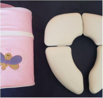 kit Redutor Sanitário NUK e Porta Mamadeira Mappyng Rosa - Sem faixa etaria - NUK
