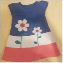 Vestido infantil BayGustb bordada Flores tamanho 3 - 3 anos - Não informada
