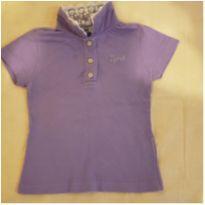 Camisa roxa infantil Tyrol menina tamanho 2 - 2 anos - Tyrol
