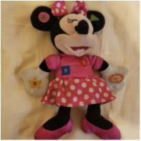 Pelúcia importada Minnie com Som Disney 8 funções -  - Disney