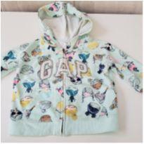 Casaco Moletom Baby Gap Infantil Menina Original tamanho 2 - 2 anos - Baby Gap e GAP