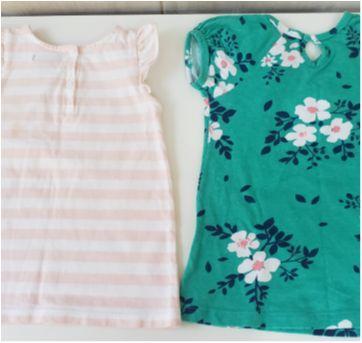Lote 2 vestido infantil Gap e Hering tamanho 1 - 1 ano - GAP