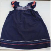 Vestido azul infantil Brandili Mundi tam.2 - 2 anos - Brandili