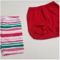 Lote 2 short infantis Gymboree e bb basico tam 24 meses - 18 a 24 meses - Gymboree