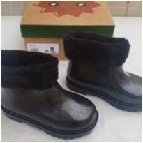 Mini Melissa Winter Boot preta glitter tam 25 - 25 - Mini Melissa original