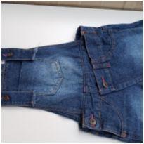 Jardineira jeans infantil Bikbok tam 6 - 6 anos - bik  bok