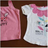 Duas blusinhas infantis feminina tam 3 - 3 anos - By Gus