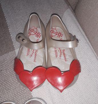 Lote de sapatos Menina Bebê - 14 - Melissa e Pimpolho