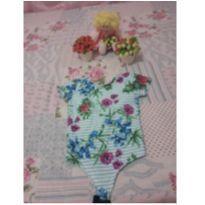 Lindo Body floral - 24 a 36 meses - Não informada