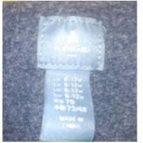 macacão gap baby 6 a 9 meses - 6 a 9 meses - GAP