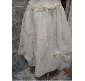 lindo vestido infantil tamanho 8 com bordados - 8 anos - Não informada