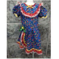 vestido festa junina tamanho 8 - 8 anos - Bellucci