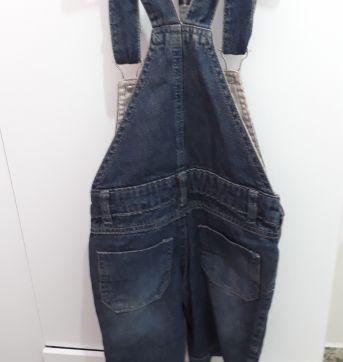 Macacão jeans - 2 anos - Poim