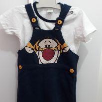 Macacão Tigrão - 9 a 12 meses - Disney baby