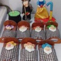 kit festa branca de neve -  - biscui
