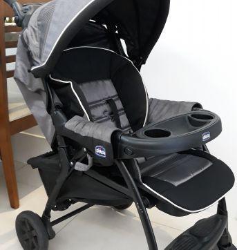 Carrinho de bebê + bebê conforto Chicco - Sem faixa etaria - Chicco