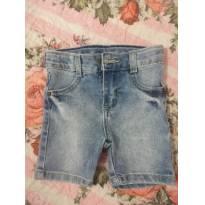 Bermuda jeans - 6 a 9 meses - yoyo Baby