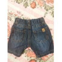 Bermuda jeans tamanho M - 6 a 9 meses - yoyo Baby