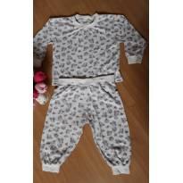 Pijama Ursinho - Blusa segura calça! - 18 meses - Nacional
