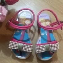 Sandália Frozen Pink - 23 - Disney