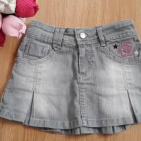 Saia Jeans Polly - 4 anos - Polly Pocket