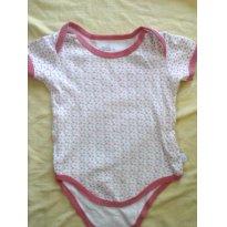 Body de bolinha - 3 a 6 meses - Bambini