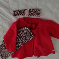 Conjunto rosa - 3 a 6 meses - By Gus