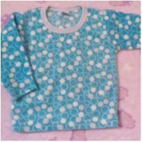 Casaquinho pijama azul - 9 a 12 meses - Tikinhos