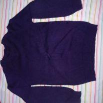 Suéter tricô azul marinho - 5 anos - Malwee
