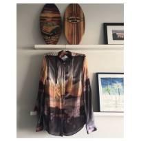 camisa summer maison revolta - M - 40 - 42 - Nacional