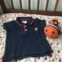 Camiseta polo - 0 a 3 meses - active baby