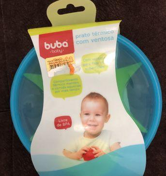 Pratinho térmico - Sem faixa etaria - Buba Baby