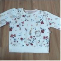 Blusa Moleton Teddy Boom - 3 a 6 meses - Teddy Boom