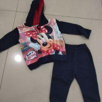 Moletom  Miney - 3 a 6 meses - Disney baby
