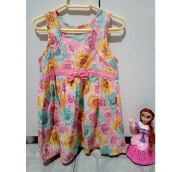 Combo de vestidos - 12 a 18 meses - Sapequinha e Kyly