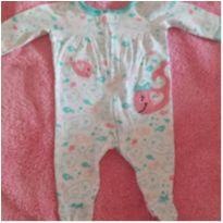 Macacão Baleia em malha - 3 meses - Koalla baby