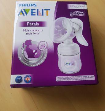 Extrator de leite Philips Avent pétala - usado apenas 2x - Sem faixa etaria - Avent Philips