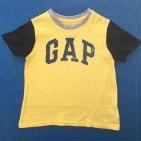 CAMISETA MANGA CURTA GAP LOGO - 3 anos - Baby Gap