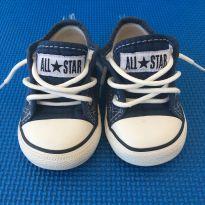 Tênis Infantil Converse All Star Chuck Taylor Border - Marinho - 19 - ALL STAR - Converse