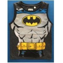 CAMISETA REGATA BATMAN PEITORAL - 3 anos - DC Comics