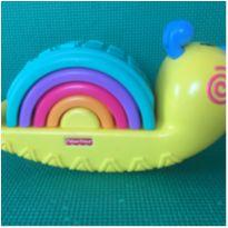 EMPILHA CARACOL FISHER PRICE -  - Fisher Price