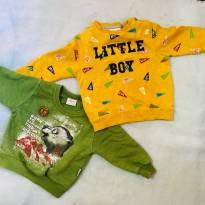 2 Blusas quentes e lindas marca boa! - 3 a 6 meses - Elian e Zara Baby