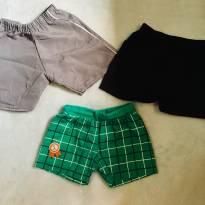 Kit - 3 Shorts meninos - 3 meses - Elian e Disney baby