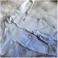 Macacão branco Clube do Dino - 6 a 9 meses - Clube do Dino
