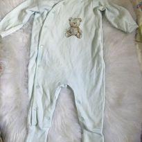macacão quentinho bebê 09 meses - 9 meses - Mini&Classic