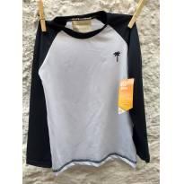 camisa manga longa proteção solar ( praia) (piscina) - 4 anos - Palomino