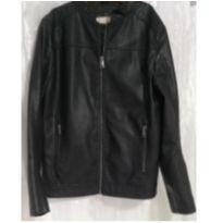 Linda jaqueta infantil imitação de couro - 12 anos - Fifteen