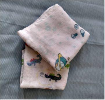 Kit com duas fraldas de pano estampadas - Sem faixa etaria - Não informada
