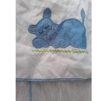 Mosquiteiro azul - Sem faixa etaria - Não informada